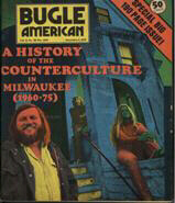 Zonyx Report:  Literary History of Milwaukee's East Side, Bugle American Counterculture Issue Cover,  Nov. 5, 1975
